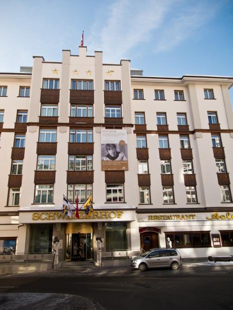 Das Hotel Schweizerhof an bester Lage