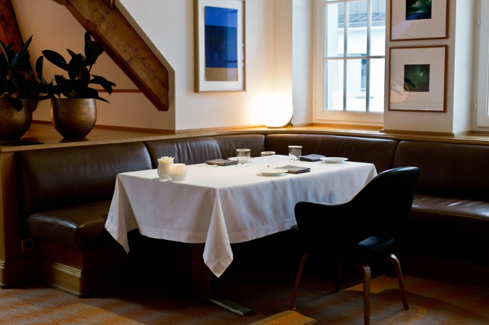 Interieur Restaurant Einstein St. Gallen