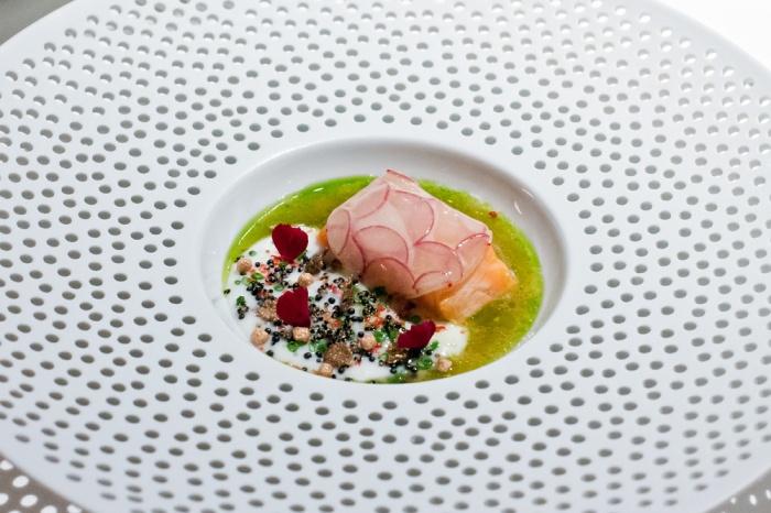 Lachs im Einstein Gourmet in St. Gallen