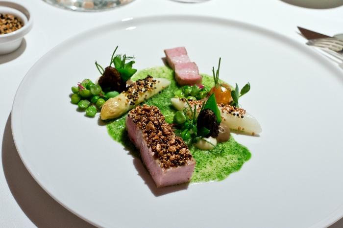 Luma Schwein im Einstein Gourmet in St. Gallen
