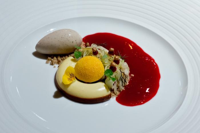 Dessert im Einstein Gourmet in St. Gallen