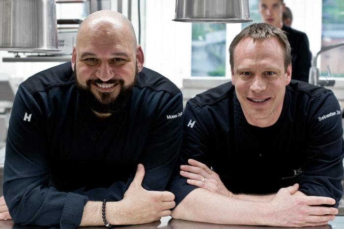 Moses Ceylan und Sebastian Zier im Einsten Gourmet in St. Gallen